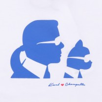Team Karl Silhouette T-Shirt (14-16 years)