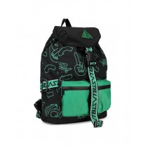 Black and Green Backpack