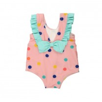 Candy Pink Belle - Dots Bathing Swimsuit