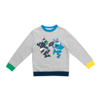 Color-Block Monster Sweater