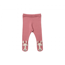 Pink Horse Knitted Leggings