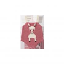 Pink Horse Babysuit