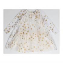 Gold Stars Tulle Dress