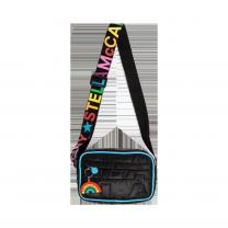 Logo Quilted Sling Bag