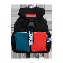 Color-Block Logo Backpack