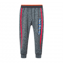 Grey Side Logo Joggers