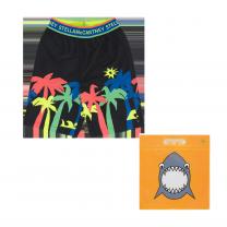 Black Palm Swim Shorts
