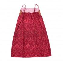 Fuschia Sleeveless Limar Pucuk Rebung Dress