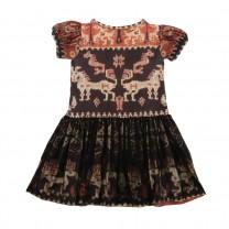 Brown Sumba Tutu Dress