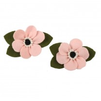 Baby Pink Anemone Piggy Set Clip