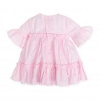 Baby Pink Ruffled Dress