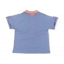 Blue Stripes Polo Shirt
