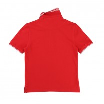 Red Regular-fit Logo Polo Shirt (16 years)