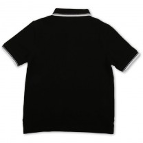 Black Logo Cotton Shirt