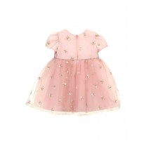Pink Floral Flare Baby Dress
