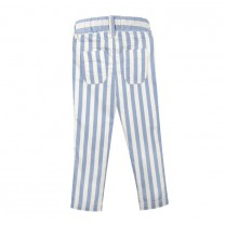 Light Blue Stripes Pants