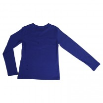Royal Blue Long Sleeves T-shirt