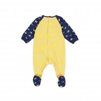 Yellow Stripe Babysuit