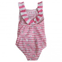 Pink Striped Achor Swimsuit