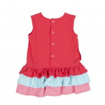 Red Seahorse Sleeveless Dress