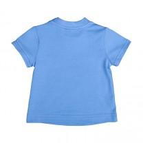 Sea Blue Anchor Cotton Tees