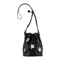Black Star Bucket Bag