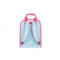 Light Blue Swan Large Backpack