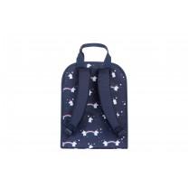 Navy Blue Unicorn Large Backpack