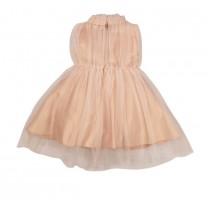 Peach Tulle Dress