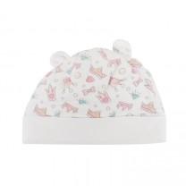 Gem and Tiara Printed Knit Hat