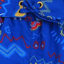 Blue Zig Zag Swimwear