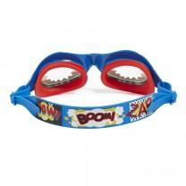 Captain of The Swim Team Blue Swim Goggles
