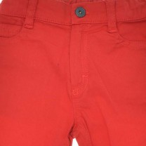 Red Straight-Fit Jeans