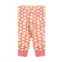 Dusty Pink Flowery Trousers