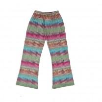 Pallazzo Pants Zigzag Rainbow