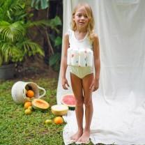 White Girls Floatsuit