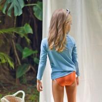 Orange Girls Bikini Bottom