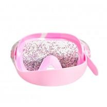 Glitter Bubblegum Pink Swim Mask
