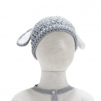 Grey Sheep Knit Beannie