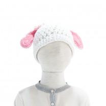 White Sheep Knit Beannie