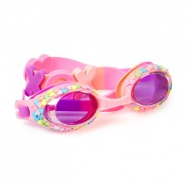 Hugs and Kisses Pink Classic Swim Goggles