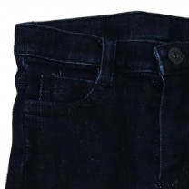 Navy Denim Trouser (For Girls)