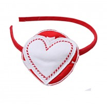 Red Heart Hairband