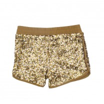 Silver Gold Sequin Shorts