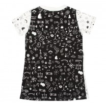 Monochromatic Zodiac Dress