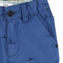 Blue Bermuda Short
