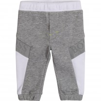 Grey and White Baby Joggers