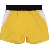 Yellow Side Yoke Baby Swim Shorts