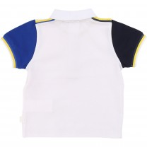 Multi-colored Sleeve Baby Polo Shirt