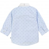 Baby Boy Striped Pattern Formal Shirt